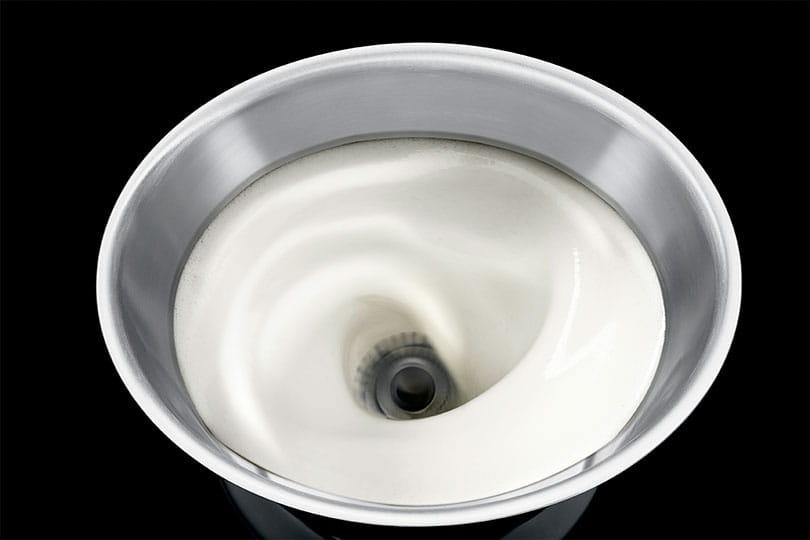 jura milk frother instructions